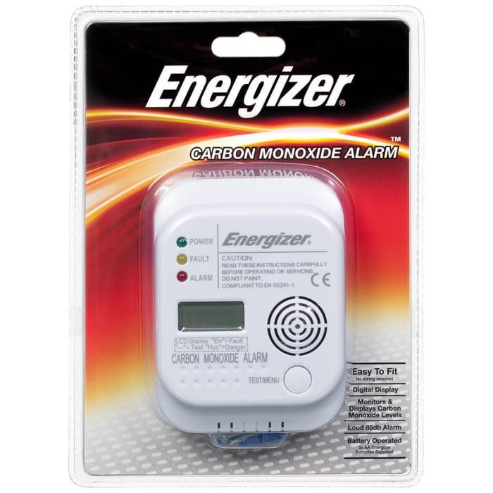 Energizer Carbon Monoxide Alarm