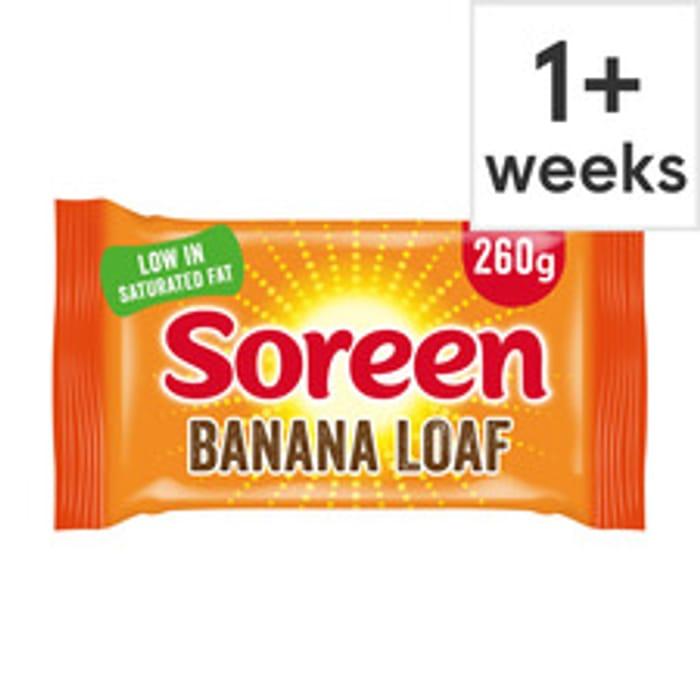 Soreen Original or Banana Malt Loaf 260G 60p