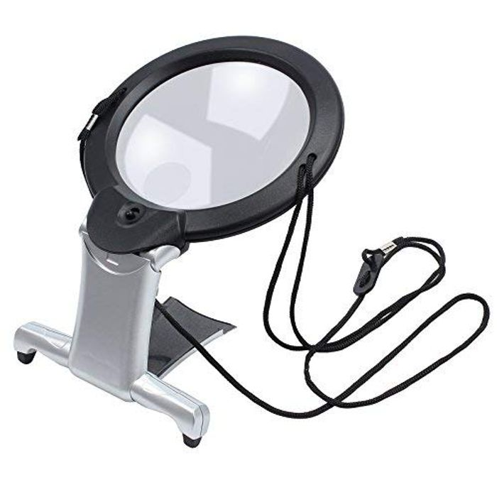 eSynic 2 in 1 Magnifier Hands Free Giant Large