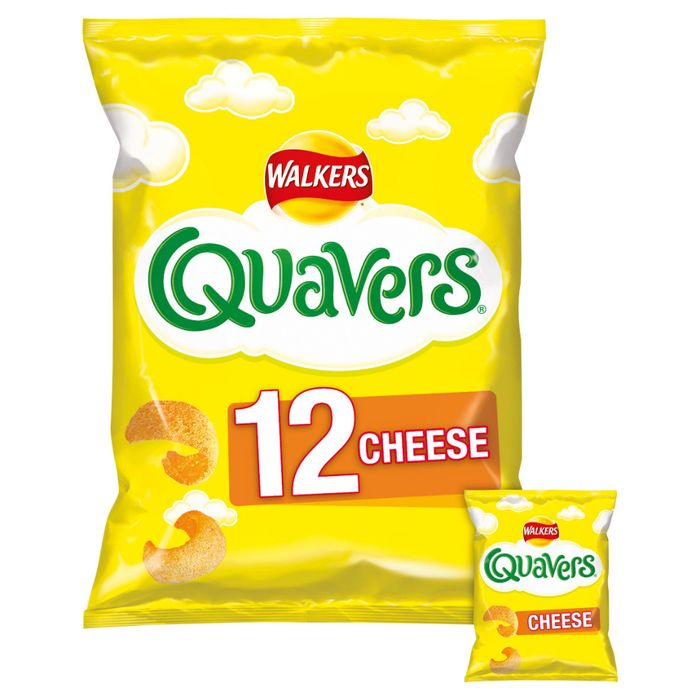 Quavers Cheese Snacks 12x16g