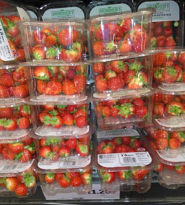 British Strawberries 250g