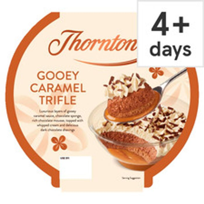 Thorntons Gooey Caramel Trifle 550G - Only £2!