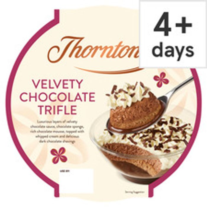 Thorntons Velvety Chocolate Trifle 550G - Only £2!