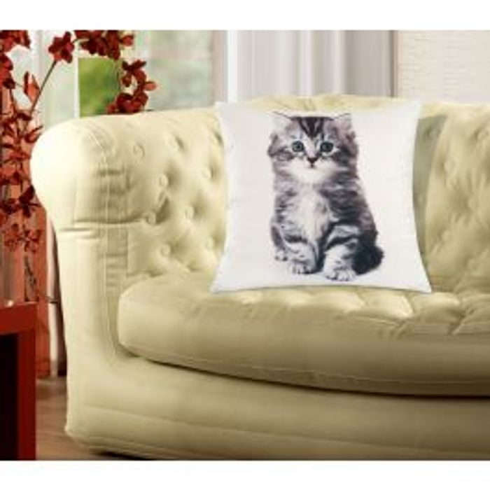 Kitten Soft Cushion Cover Down From £4.99 to £2.49
