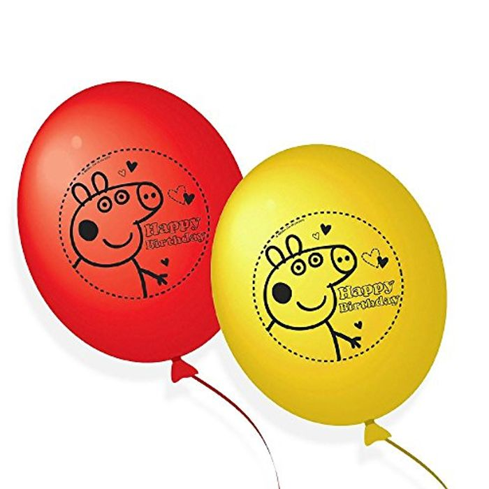 Peppa Big Balloons 10pack - Only £1.25!