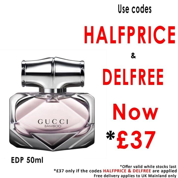 50% off GUCCI Bamboo Eau De Parfum Orders