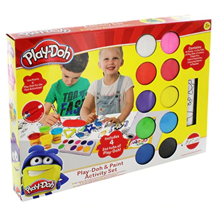 Play-Doh and Paint Activity Set - Only £10 Delivered with Code!