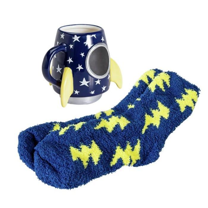 Imagination Station Rocket Mug & Socks