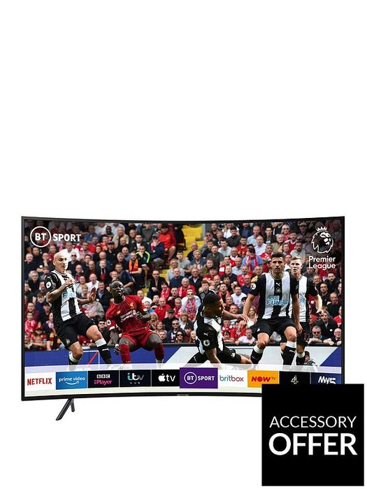 Samsung 55 Inch, Curved Ultra HD, HDR Smart TV