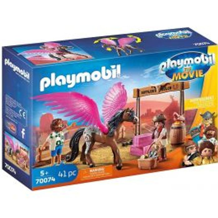 Playmobil the Movie Marla, Del & Flying Horse
