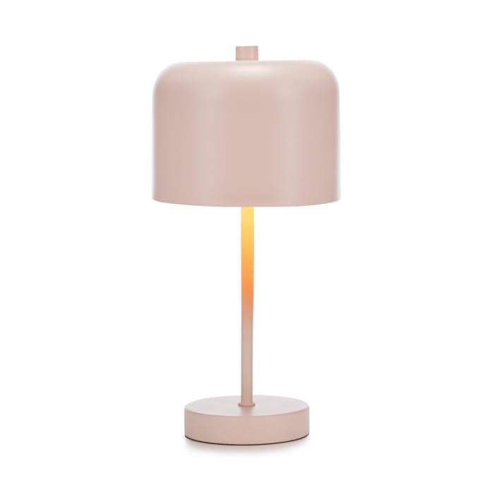Debenhams - Pink Metal 'Quinn' Table Lamp