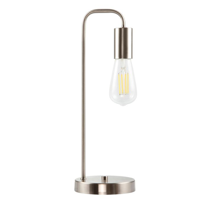 Debenhams - 'Silver' Macy Table Lamp