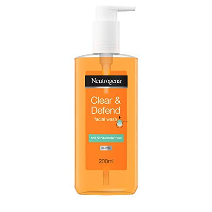 Neutrogena Clear and Defend Facial Wash, 200 Ml
