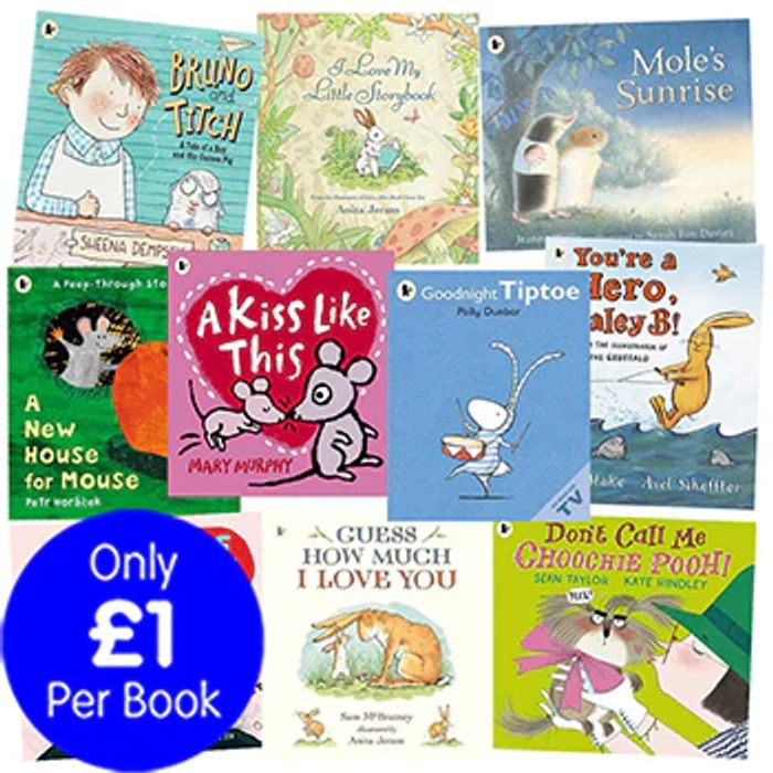 CHEAP! Furry Friends - 10 Kids Picture Books Bundle - Only £10 Delivered