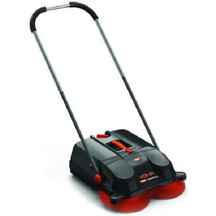 Vax VCS-01 Floor Sweeper, Black/Orange