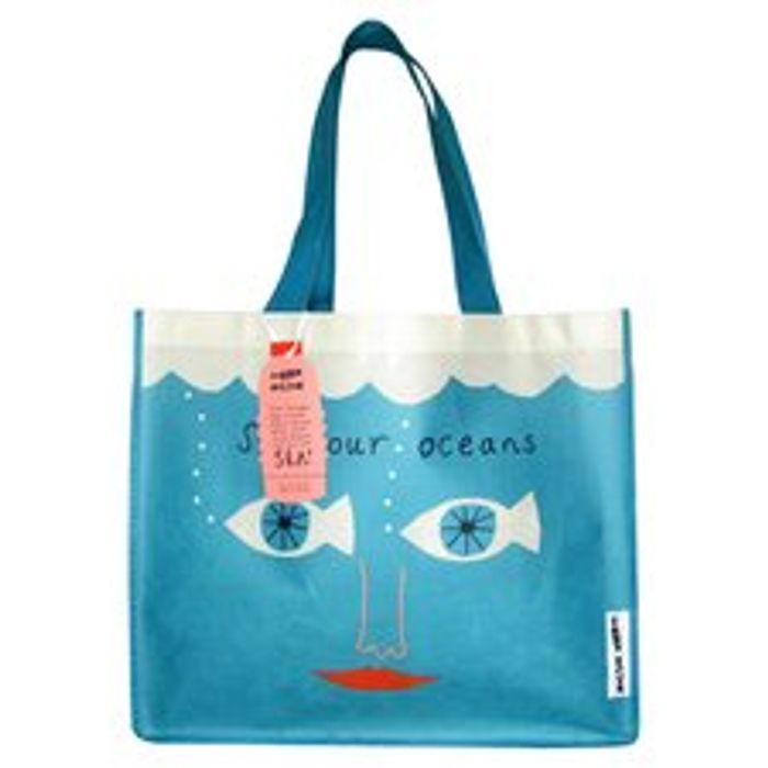 Donna Wilson Reusable Sea Bag *Very Cute & Made From Recycled Bottles!
