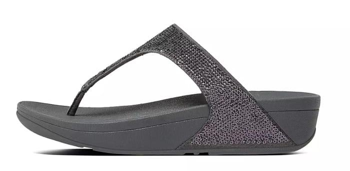 Fit Flop Electra Sequin Toe-Post Sandals - Different Colours Available