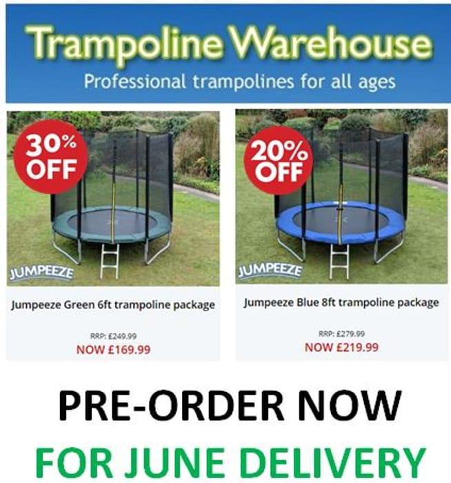 CHEAP! Trampoline Warehouse - TRAMPOLINES