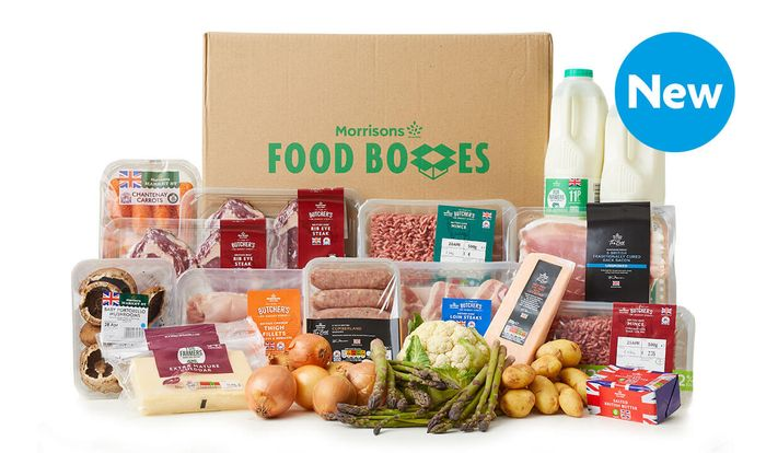 British Food Box from Morrisons - £45 Delivered