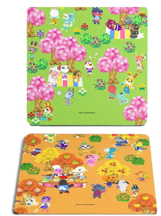 Get These Animal Crossing New Horizons Coasters For Free After Cashback!