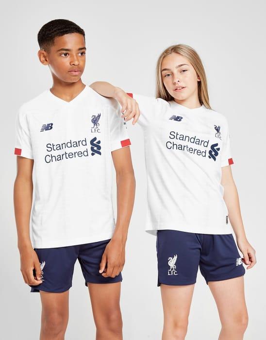 New Balance Liverpool FC 2019/20 Away Shirt Junior