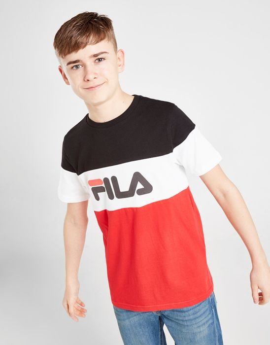 Fila Piyon Colour Block T-Shirt Junior