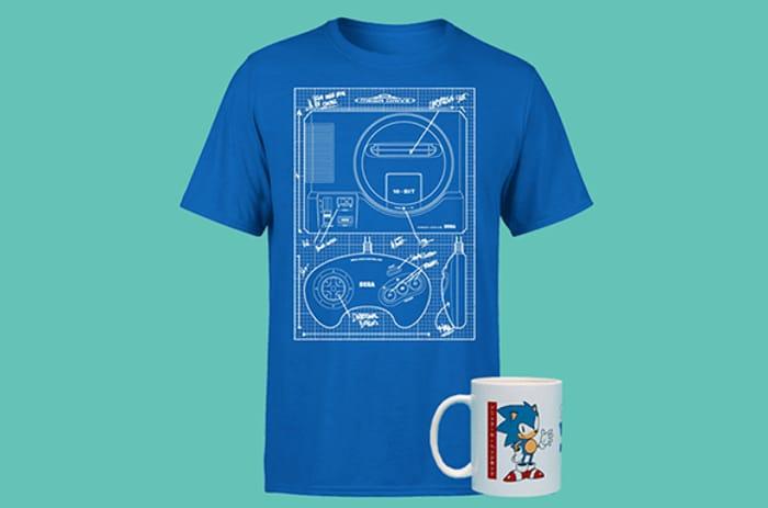 Special Offer - Sega Sonic Mug and T-Shirt