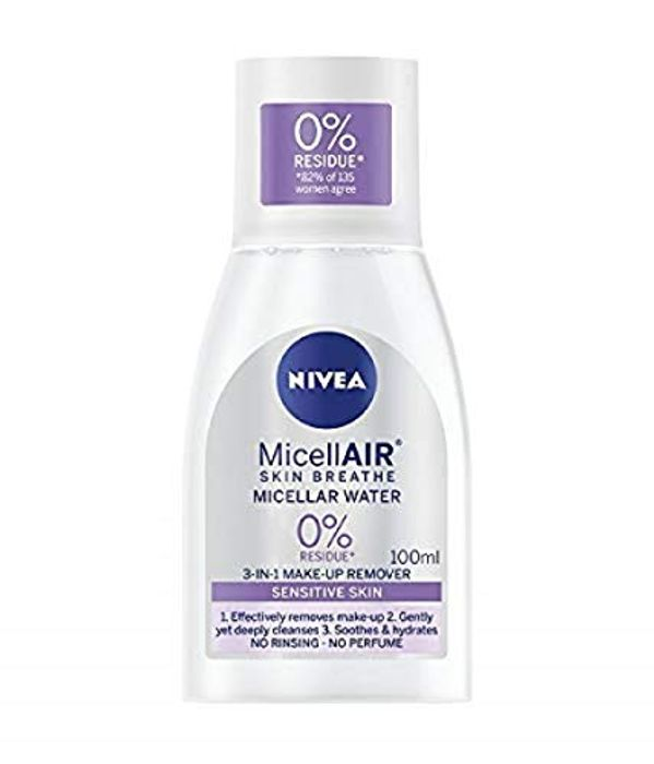 Special Offer - NIVEA MicellAIR Micellar Water for Sensitive Skin, 100 Ml