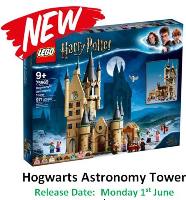 NEW! LEGO Harry Potter - Hogwarts Astronomy Tower 75969