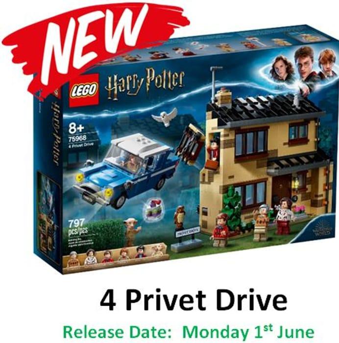 Best Price! LEGO Harry Potter - 4 Privet Drive - (75968)