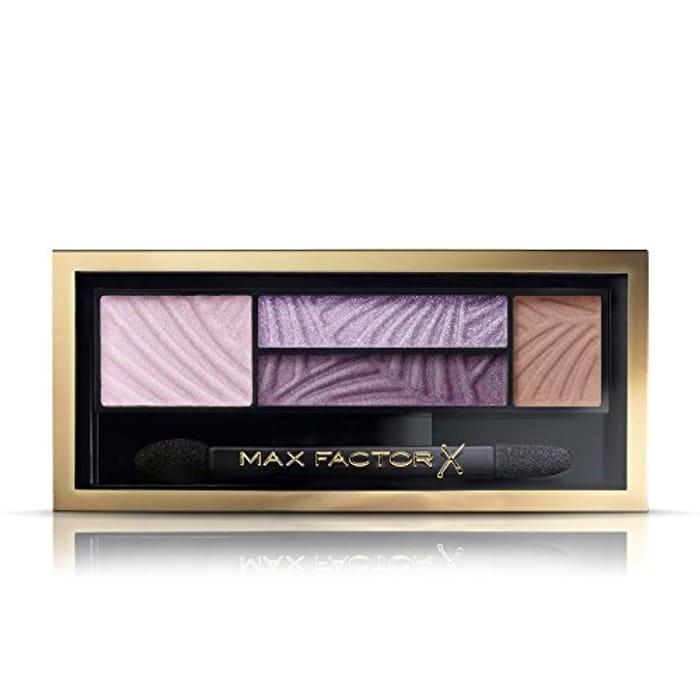 Max Factor Eyeshadow Palette Smokey Eye Drama Kit, 1.8 G, Number 4, Luxe Lilacs