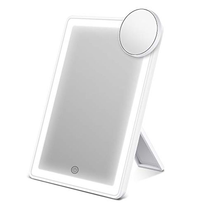 ESR7GEARS Makeup Mirror with Lights, 72 LED Vanity Mirror Attached
