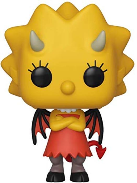 Funko 39721 POP. Vinyl: Animation: Simpsons - Lisa as Devil