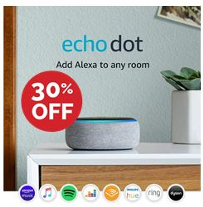Echo Dot (3rd Gen) - Smart Speaker with Alexa - ALL FABRICS