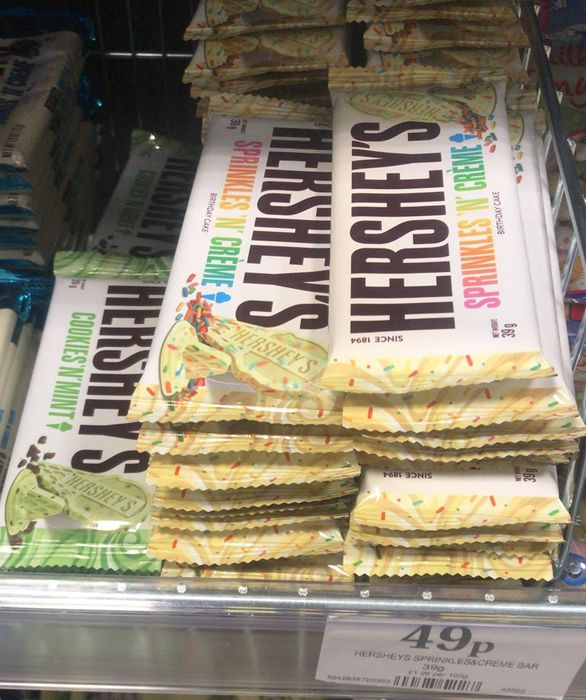 Hershey Chocolate Bars New Flavours * Only If You're Out Shopping Anyway*