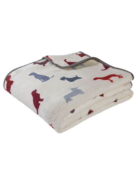 Silhouette Dog Throw on Sale From £16 to £10
