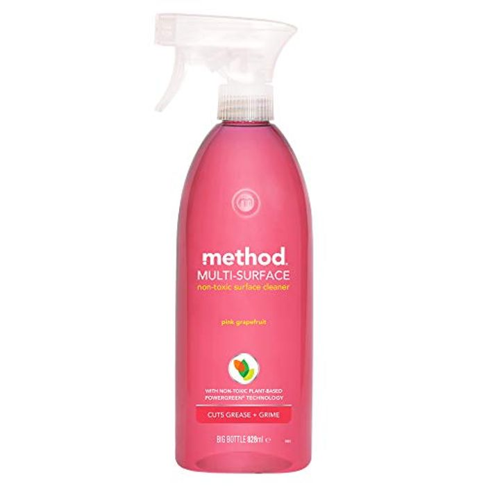 Method All Purpose Surface Cleaner Pink Grapefruit 828 Ml (Pack of 8)