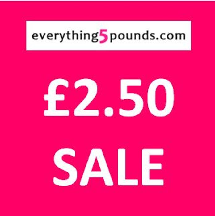 Half Price £2.50 SALE - over 3,000 Items! at Everything5Pounds