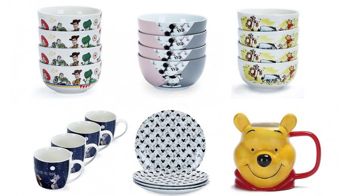Disney Tableware from £4.50 at Asda George