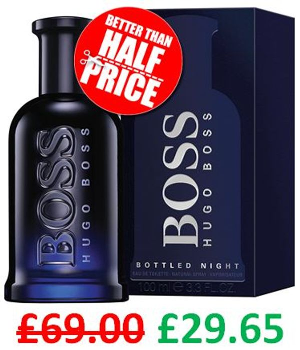 CHEAP! HUGO BOSS - Hugo Boss Bottled Night