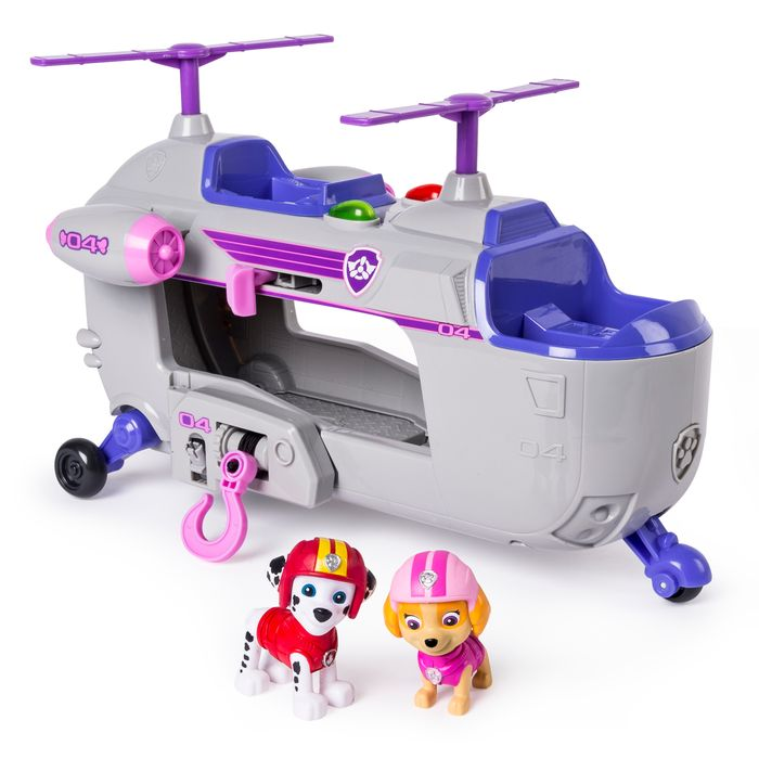 Paw Patrol Ultimate Rescue Skyes Ultimate Rescue Helicopter