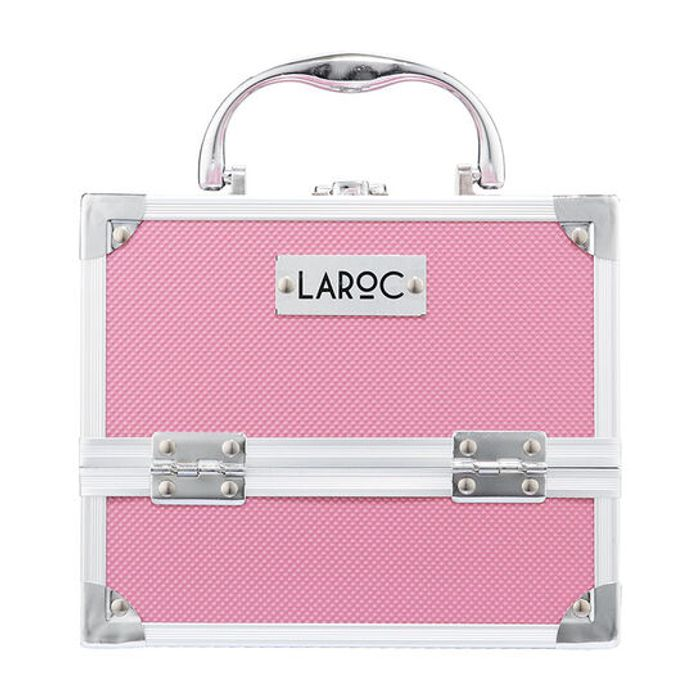 LaRoc Pink Makeup Case