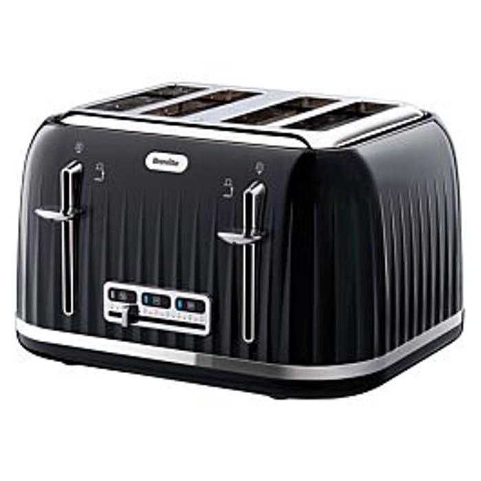 Breville Impressions 4-Slice Wide-Slot Toaster - Black