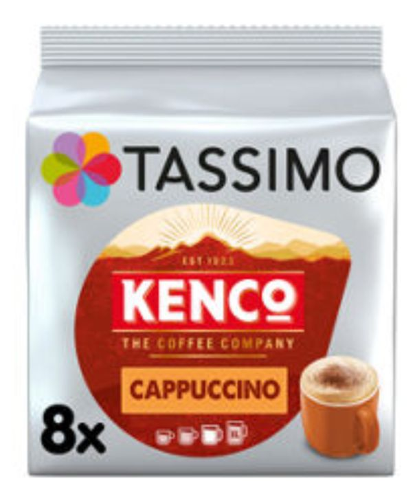 Tassimo 8 Kenco Cappuccino Pods - Reduced by 99p!