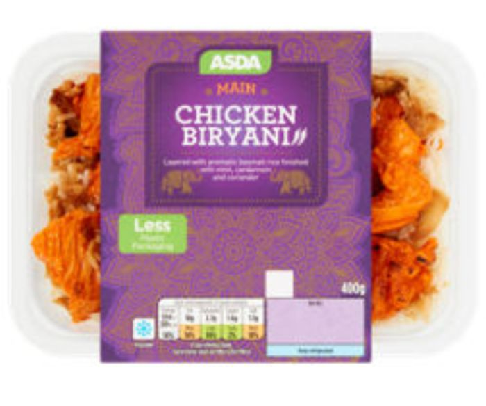 ASDA Chicken Biryani - save £1!