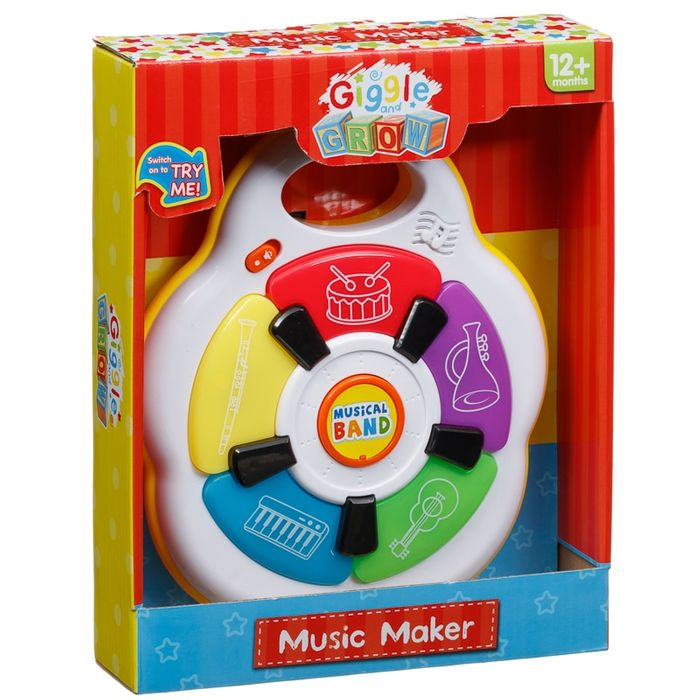 Giggle and Grow Music Maker on Sale From £4.99 to £3