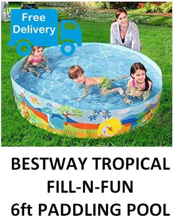 LOVE PADDLING? Bestway 6ft Paddling Pool