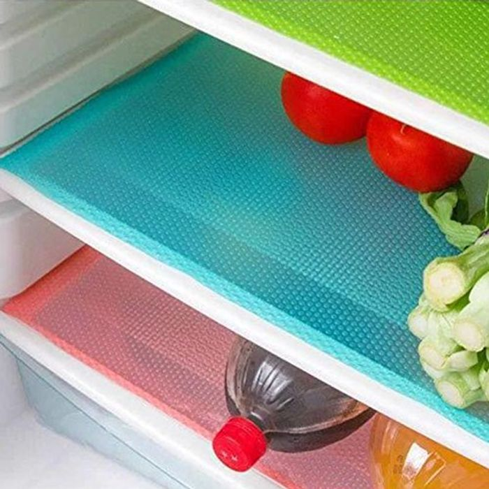 4 Pcs Antibacterial Refrigerator Pads - Free Delivery