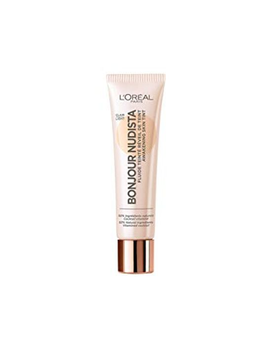 L'Oreal Paris Bonjour Nudista Skin Tint, Light Cream