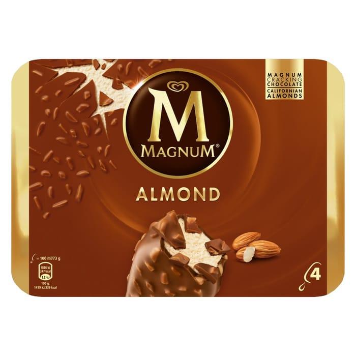 Magnum 4 Almond 400ml